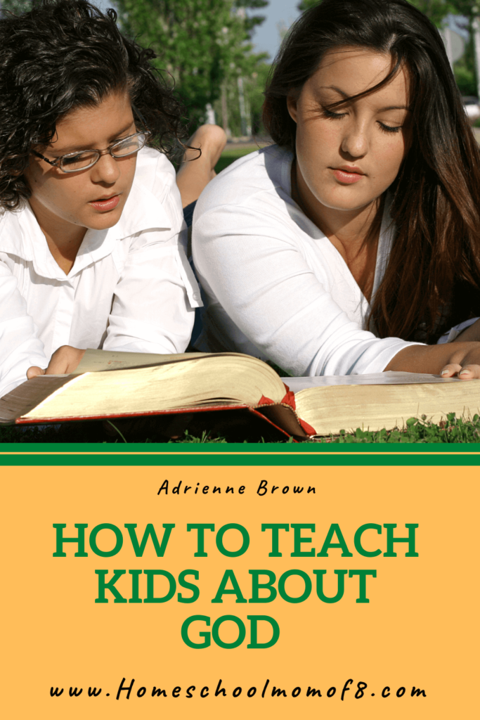How to teach kids about God