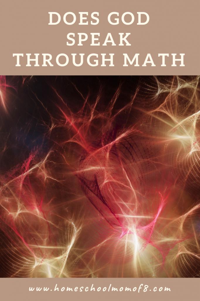 Does God speak through math?