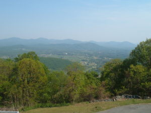 Shenandoah mountain veiw