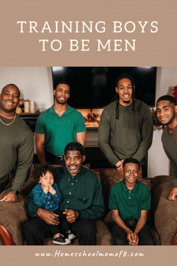 Training boys to be men