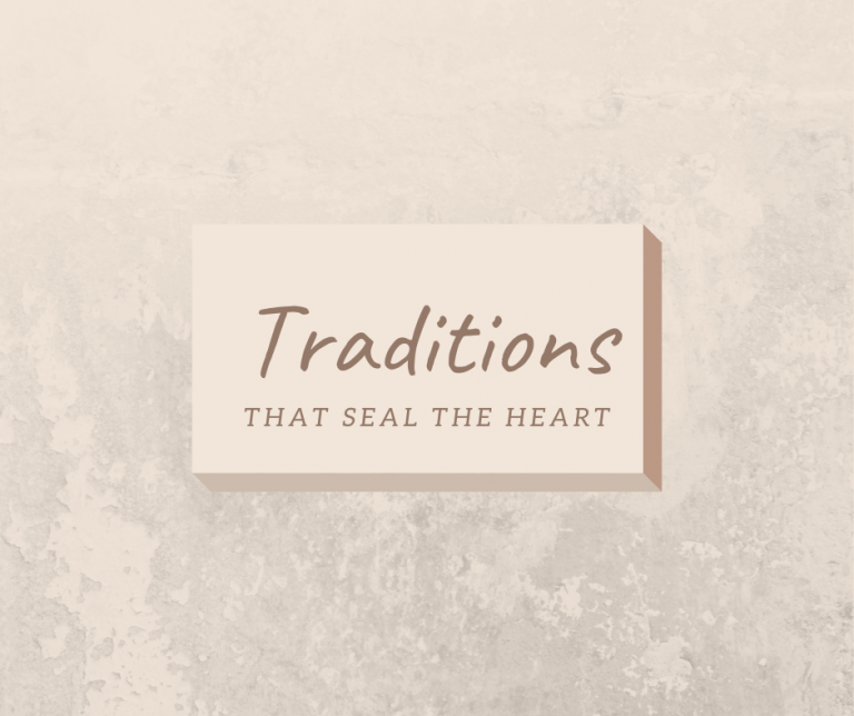 Traditions that seal