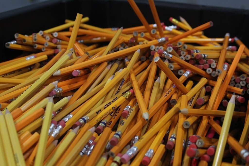 pencils are must-have resources and supplies