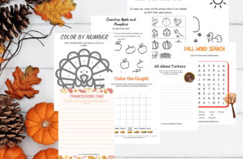 Fall printable worksheets