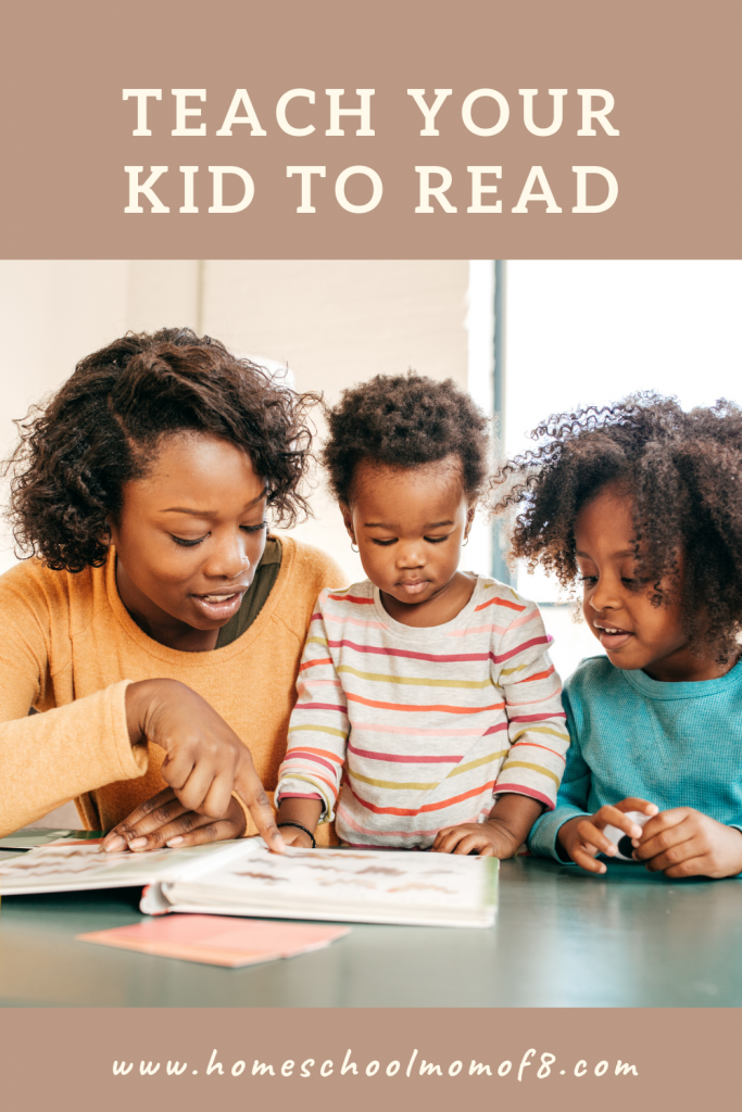 Teach you kid to read