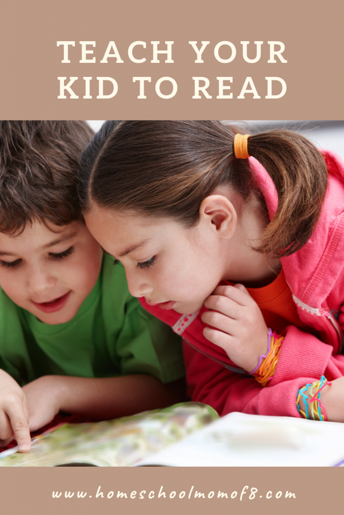 Teach your kid to read